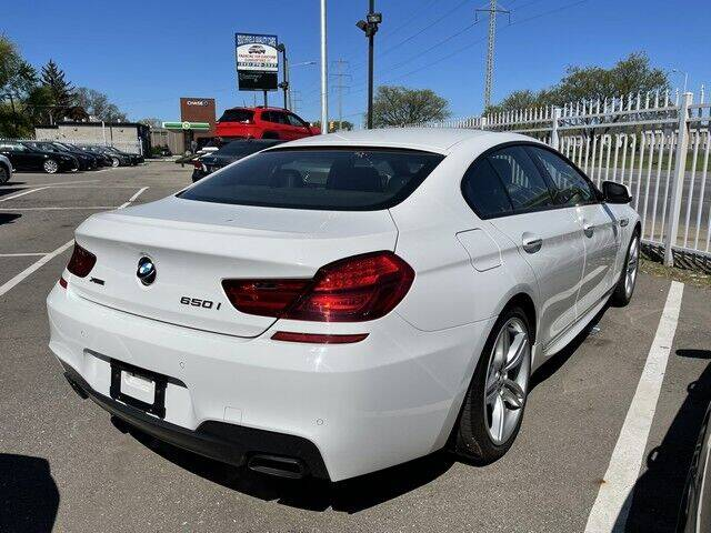 2014 BMW 6 Series for sale at SOUTHFIELD QUALITY CARS in Detroit MI