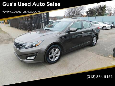 2015 Kia Optima for sale at Gus's Used Auto Sales in Detroit MI