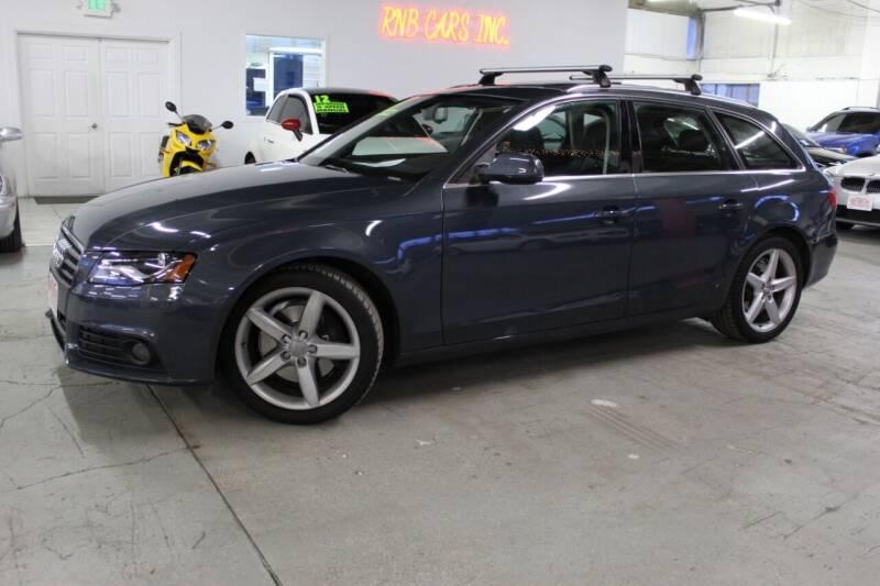 2010 Audi A4 for sale at R n B Cars Inc. in Denver CO