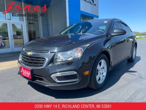 2015 Chevrolet Cruze for sale at Jones Chevrolet Buick Cadillac in Richland Center WI
