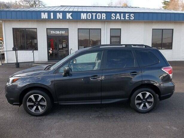 2018 Subaru Forester for sale at MINK MOTOR SALES INC in Galax VA