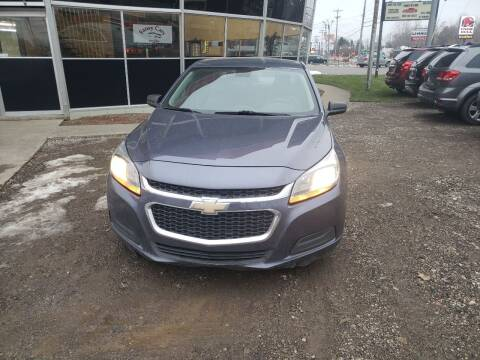 2014 Chevrolet Malibu for sale at Fansy Cars in Mount Morris MI