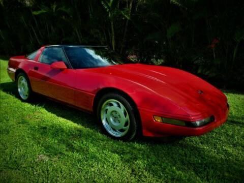 1992 Chevrolet Corvette for sale at Classic Car Deals in Cadillac MI