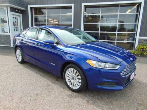 2014 Ford Fusion Hybrid for sale at Akron Auto Sales in Akron OH