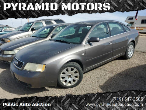 2001 Audi A6 for sale at PYRAMID MOTORS - Pueblo Lot in Pueblo CO
