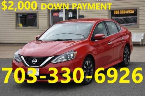 2017 Nissan Sentra for sale at MANASSAS AUTO TRUCK in Manassas VA
