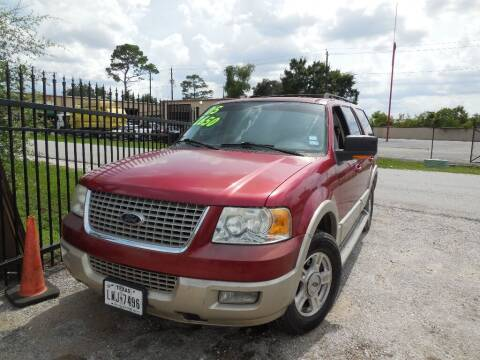 2005 Ford Expedition for sale at SCOTT HARRISON MOTOR CO in Houston TX