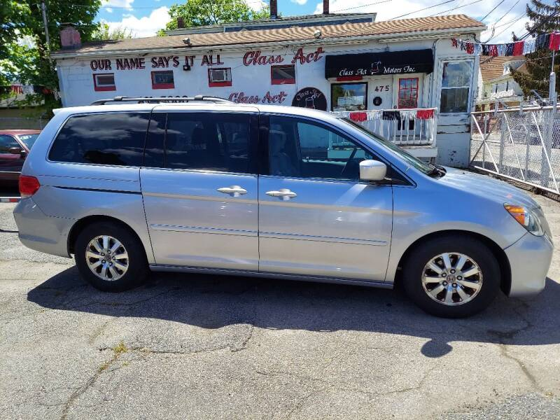 2010 Honda Odyssey for sale at Class Act Motors Inc in Providence RI
