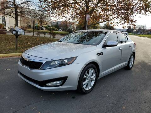 2012 Kia Optima for sale at Dreams Auto Group LLC in Sterling VA
