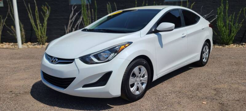 2016 Hyundai Elantra for sale at Fast Trac Auto Sales in Phoenix AZ