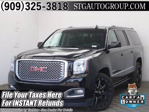 2016 GMC Yukon XL for sale at STG Auto Group in Montclair CA