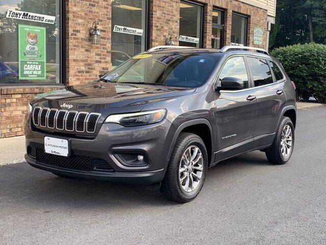 2019 Jeep Cherokee for sale at The King of Credit in Clifton Park NY