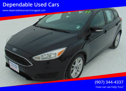 2017 Ford Focus for sale at Dependable Used Cars in Anchorage AK