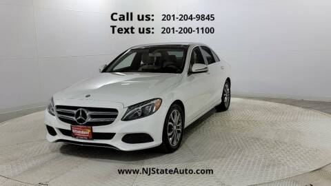 2016 Mercedes-Benz C-Class for sale at NJ State Auto Used Cars in Jersey City NJ