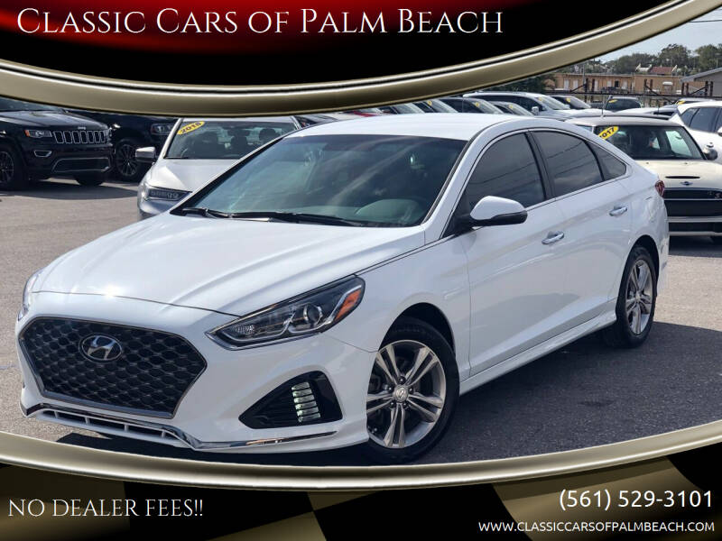 2019 Hyundai Sonata for sale at Classic Cars of Palm Beach in Jupiter FL