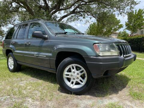 2003 Jeep Grand Cherokee for sale at Kaler Auto Sales in Wilton Manors FL