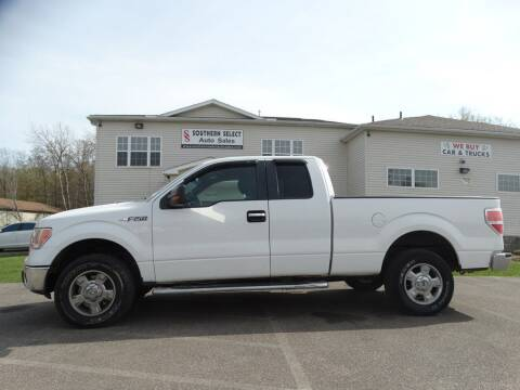 2012 Ford F-150 for sale at SOUTHERN SELECT AUTO SALES in Medina OH