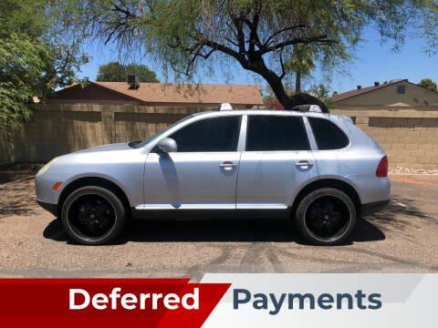 2004 Porsche Cayenne for sale at UR APPROVED AUTO SALES LLC in Tempe AZ