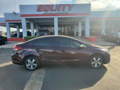2018 Kia Forte for sale at EQUITY AUTO CENTER in Phoenix AZ
