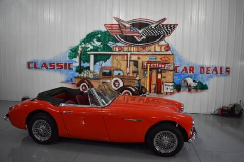 1966 Austin-Healey 3000 BJ8 for sale at Classic Car Deals in Cadillac MI