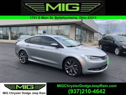 2015 Chrysler 200 for sale at MIG Chrysler Dodge Jeep Ram in Bellefontaine OH