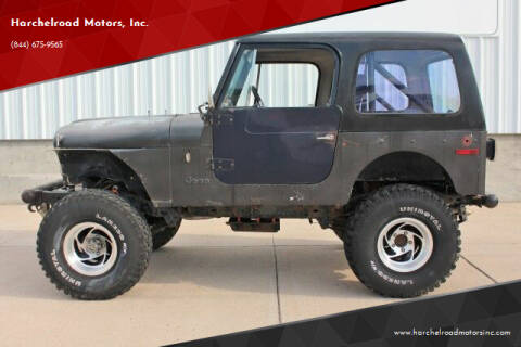 1979 AMC CJ7 for sale at Harchelroad Motors, Inc. in Imperial NE