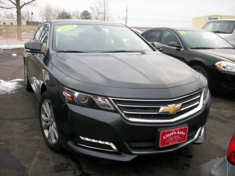 2019 Chevrolet Impala for sale at Lloyds Auto Sales & SVC in Sanford ME