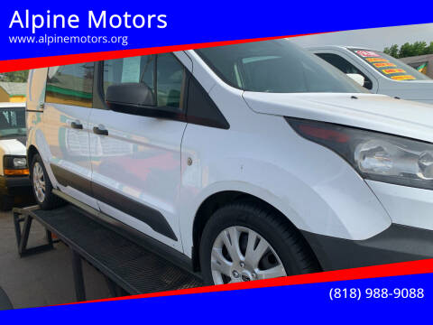 2015 Ford Transit Connect Cargo for sale at Alpine Motors in Van Nuys CA