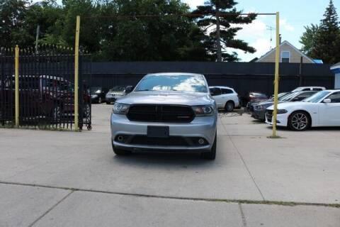2015 Dodge Durango for sale at F & M AUTO SALES in Detroit MI