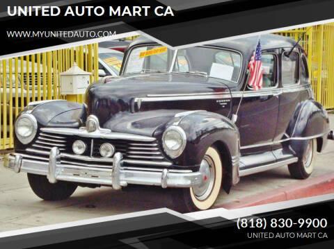 1947 Hudson Commodore for sale at UNITED AUTO MART CA in Arleta CA