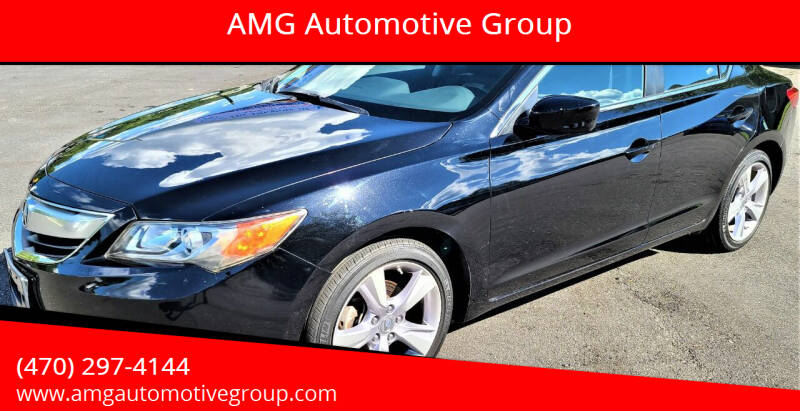 2013 Acura ILX for sale at AMG Automotive Group in Cumming GA