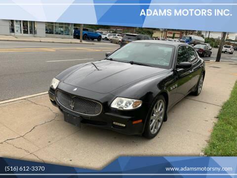 2008 Maserati Quattroporte for sale at Adams Motors INC. in Inwood NY