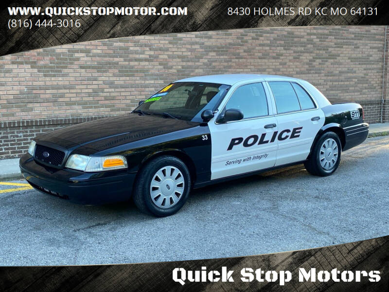 2010 Ford Crown Victoria for sale at Quick Stop Motors in Kansas City MO