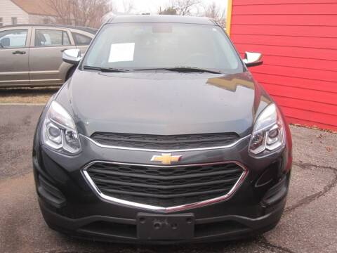 2017 Chevrolet Equinox for sale at T & D Motor Company in Bethany OK
