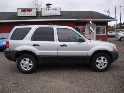 2004 Ford Escape for sale at G and G AUTO SALES in Merrill WI