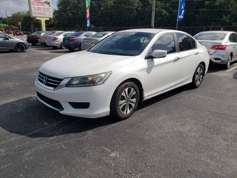 2013 Honda Accord for sale at 4 Guys Auto in Tampa FL