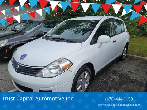 2009 Nissan Versa for sale at Trust Capital Automotive Inc. in Covington GA
