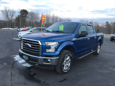 2017 Ford F-150 for sale at Greg's Auto Sales in Searsport ME