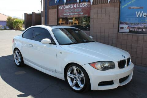 2008 BMW 1 Series for sale at NV Cars 4 Less, Inc. in Las Vegas NV