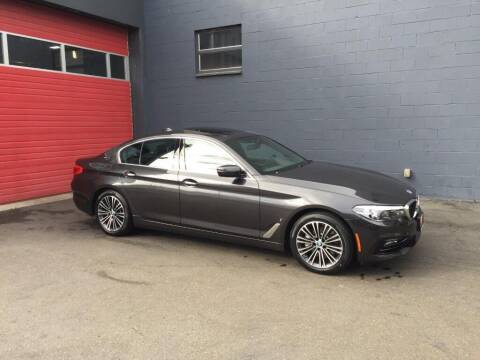 2018 BMW 5 Series for sale at Paramount Motors NW in Seattle WA