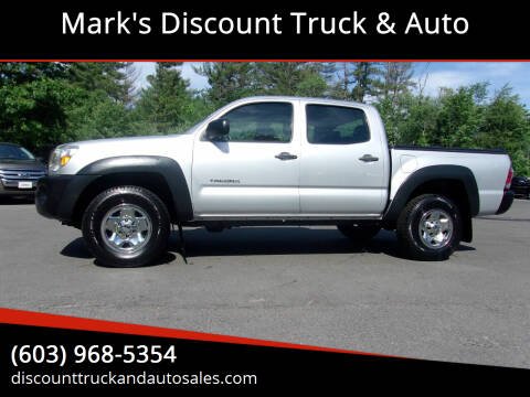 2011 Toyota Tacoma for sale at Mark's Discount Truck & Auto in Londonderry NH