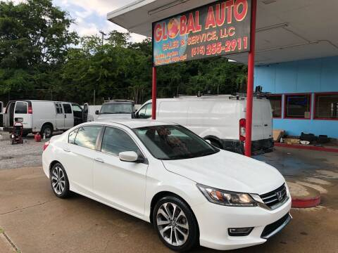 2014 Honda Accord for sale at Global Auto Sales and Service in Nashville TN