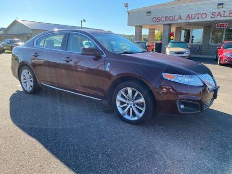 2009 Lincoln MKS for sale at Osceola Auto Sales and Service in Osceola WI
