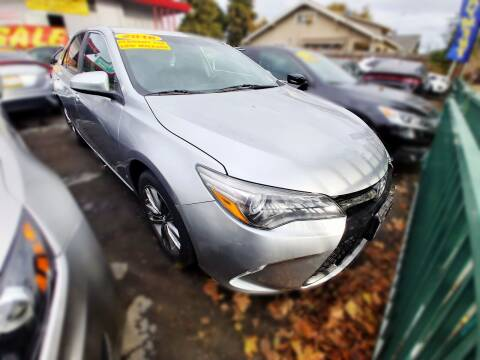2016 Toyota Camry for sale at ALL CREDIT AUTO SALES in San Jose CA