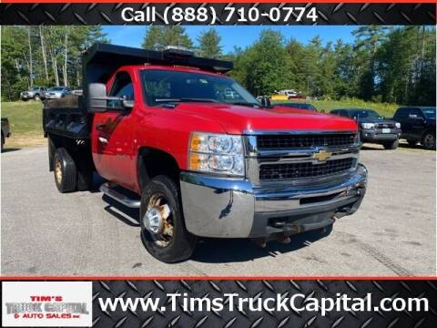 2010 Chevrolet Silverado 3500HD for sale at TTC AUTO OUTLET/TIM'S TRUCK CAPITAL & AUTO SALES INC ANNEX in Epsom NH