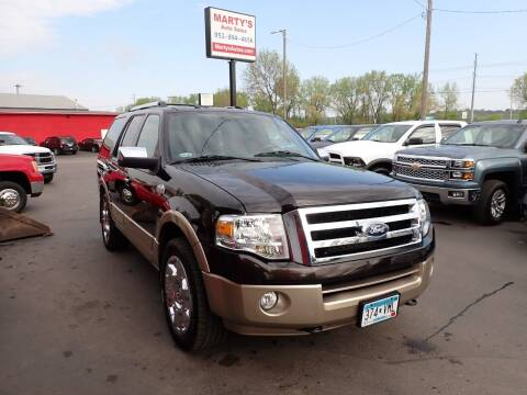 2013 Ford Expedition for sale at Marty's Auto Sales in Savage MN