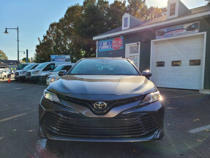 2020 Toyota Camry for sale at Bridge Auto Group Corp in Salem MA