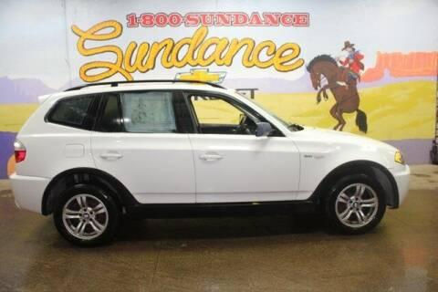 2006 BMW X3 for sale at Sundance Chevrolet in Grand Ledge MI