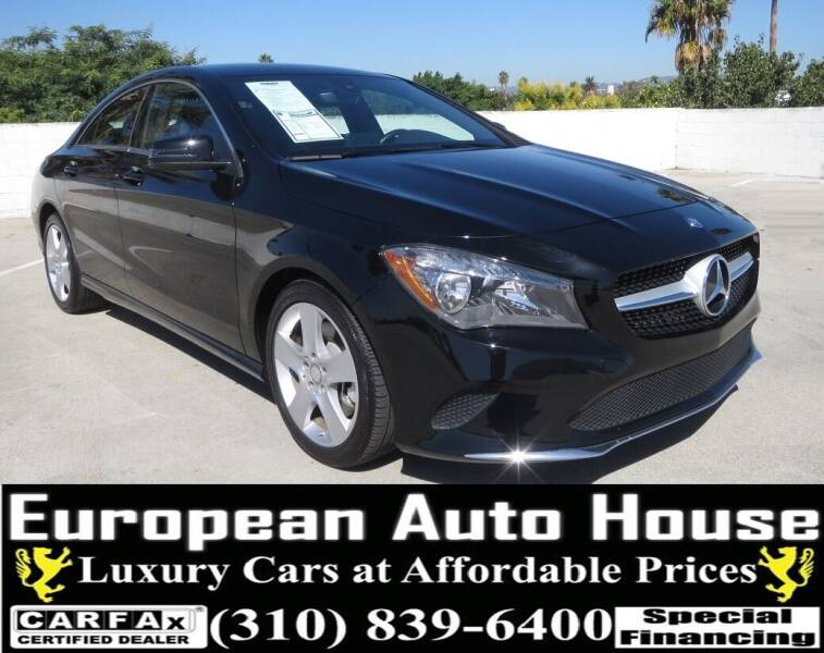 2017 Mercedes-Benz CLA for sale at European Auto House in Los Angeles CA