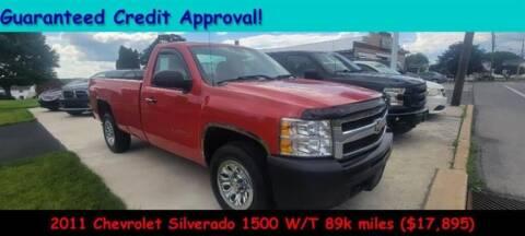 2011 Chevrolet Silverado 1500 for sale at Fortnas Used Cars in Jonestown PA
